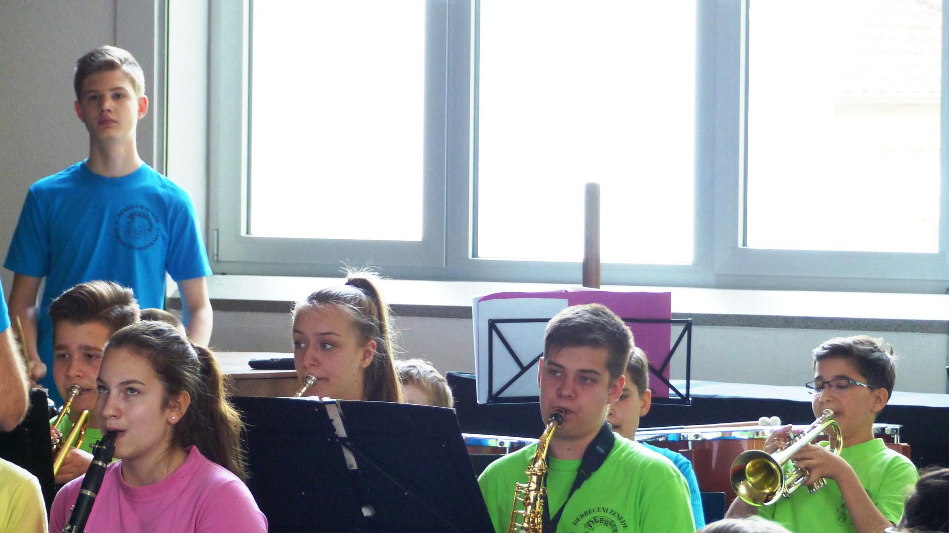 11.Das symphonische Blasorchester in Akt
