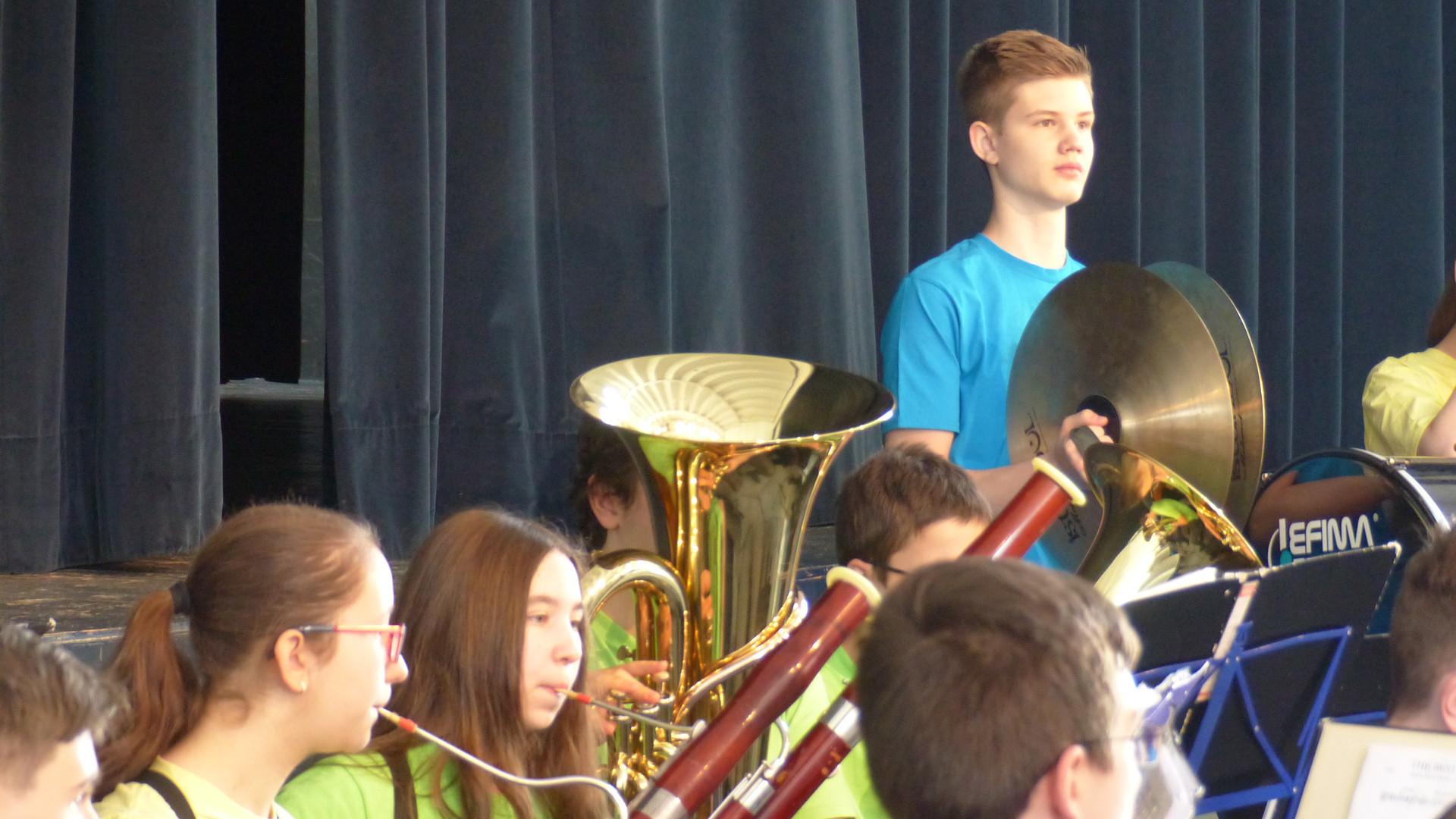 8. Das symphonische Blasorchester in Akt