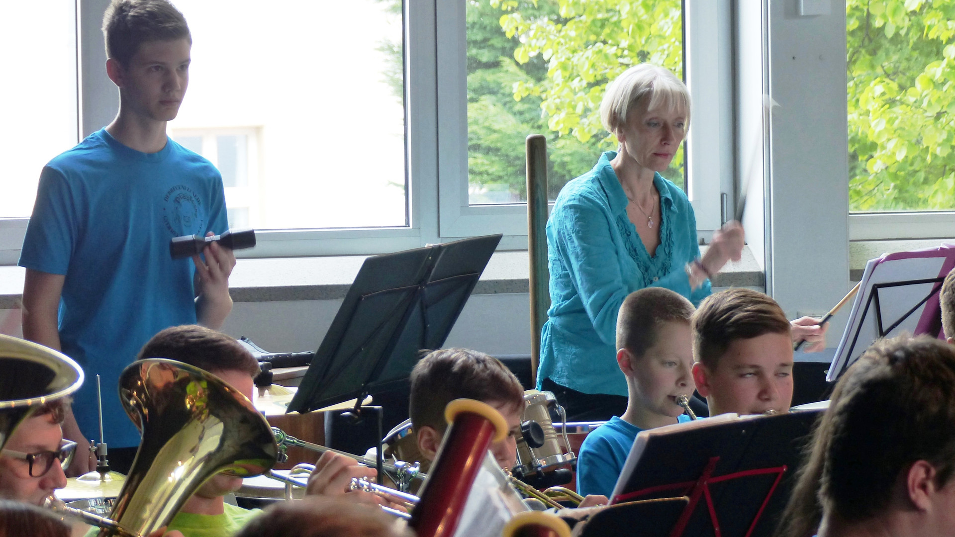 10.Das symphonische Blasorchester in Akt