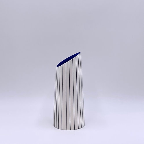 Small Vase with Tilted Rim