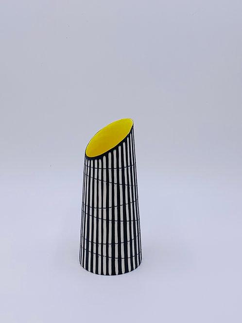 Vase with Tilted Rim