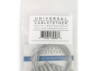 Custom Length Tether Cable 10 Packs Now Available!