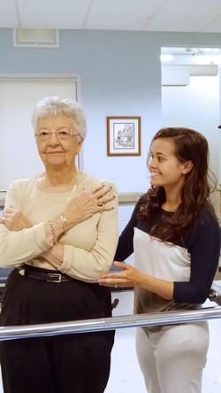 Kierstin with Patient