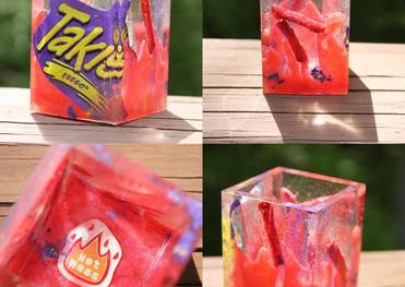 Takis Fuego Trinket Box