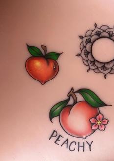 Peaches and Mandala