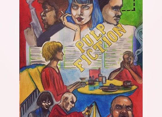 Pulp Fiction Collage