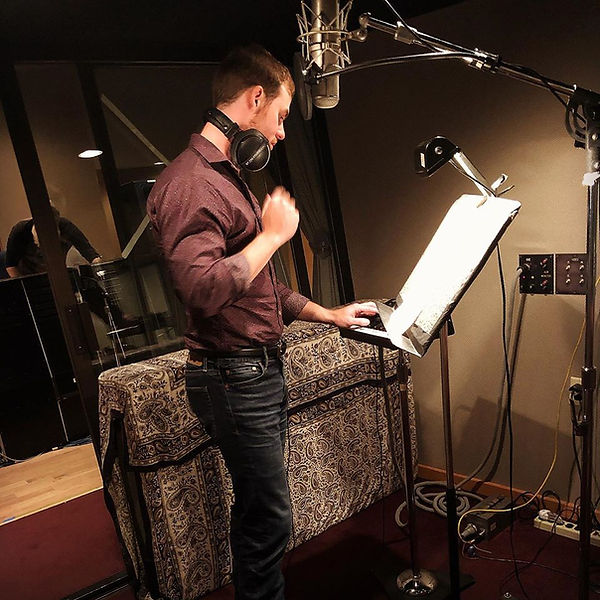 Freeman Arthur at Loud Recording Studio