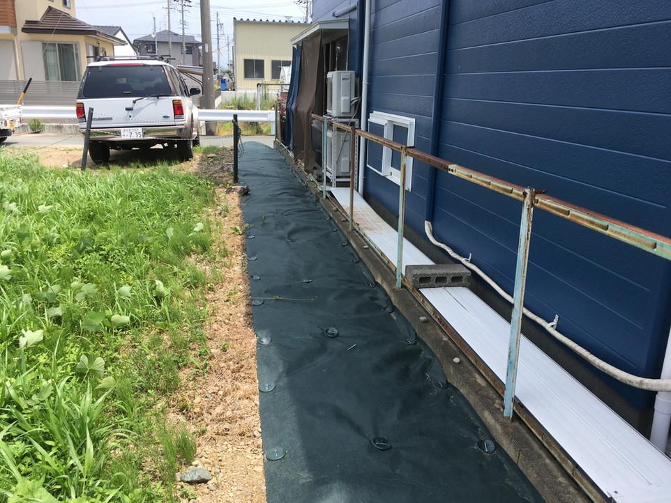 【草刈り 除草剤 防草シート】浜松市 東区 えにしプランニング 便利屋