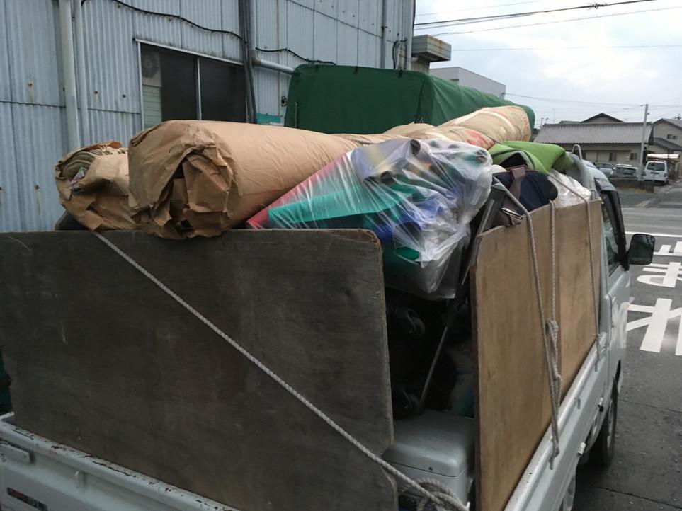 【ゴミ カーペット 不用品処分】えにしプランニング 便利屋 浜松市北区