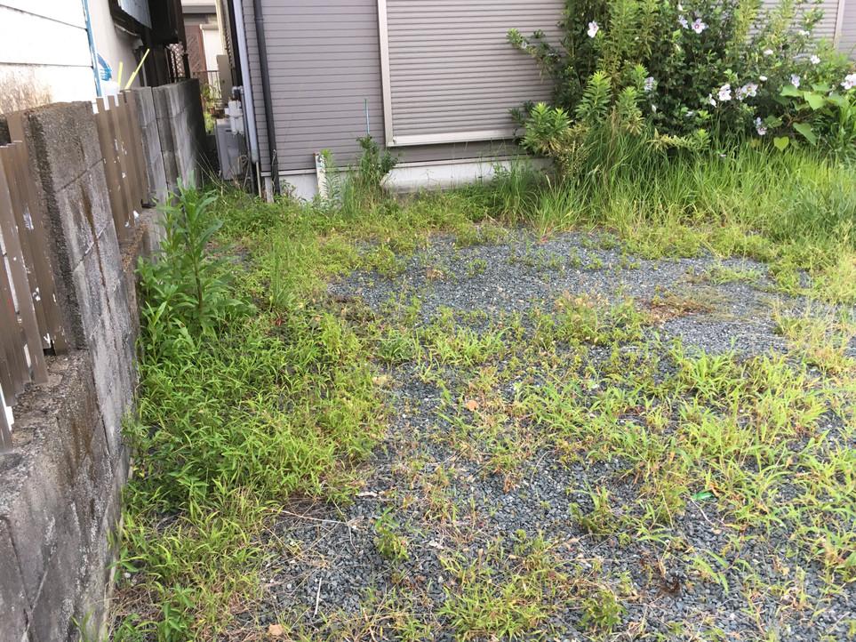 【草刈り 草むしり 草取り 伐採】浜松市 中区 えにしプランニング 便利屋