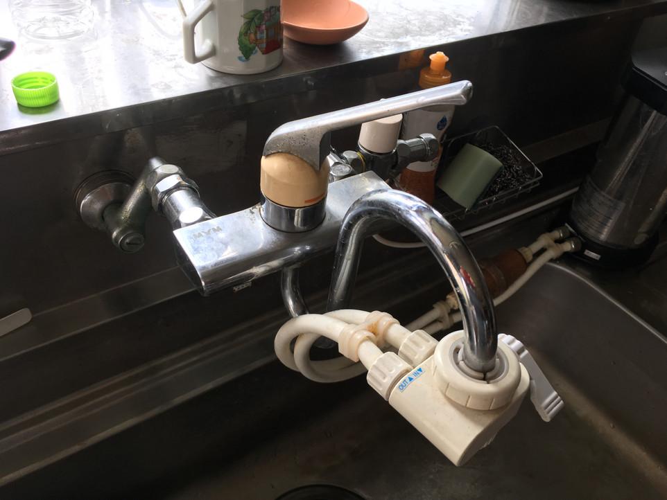 【水栓 蛇口 ワンレバー 混合栓 交換】浜松市 東区 えにしプランニング 便利屋