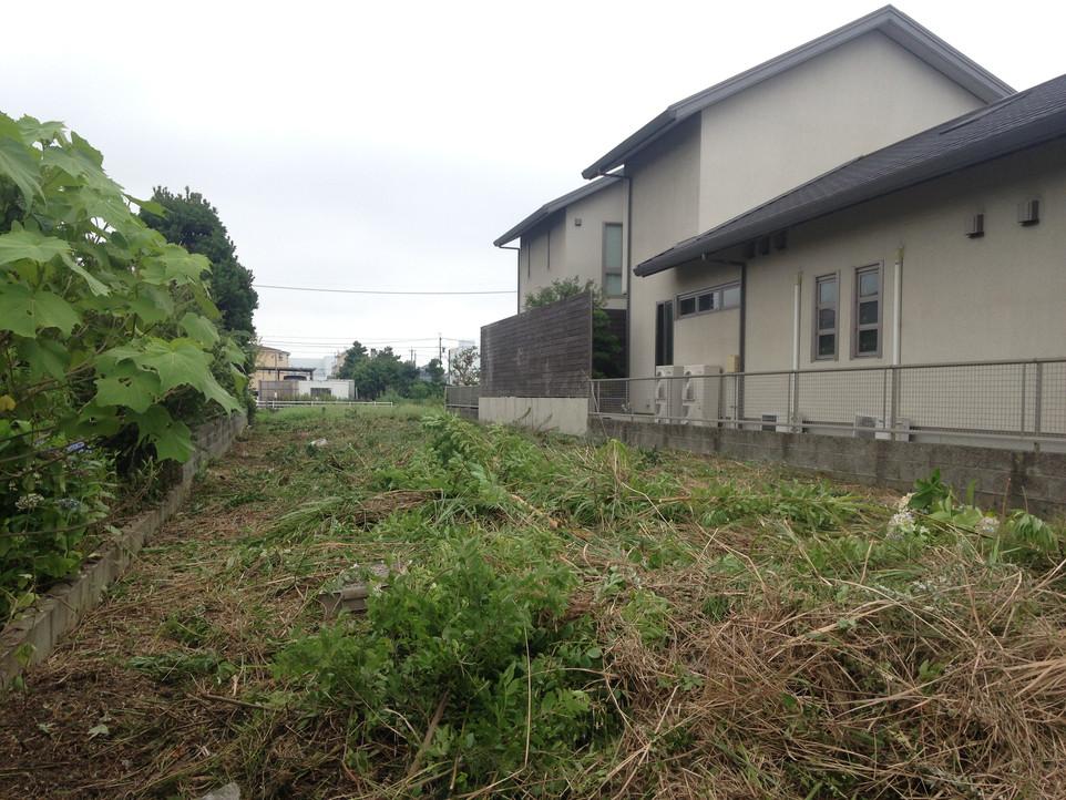 【空き地 草刈り 草むしり】えにしプランニング 浜松市 南区 便利屋