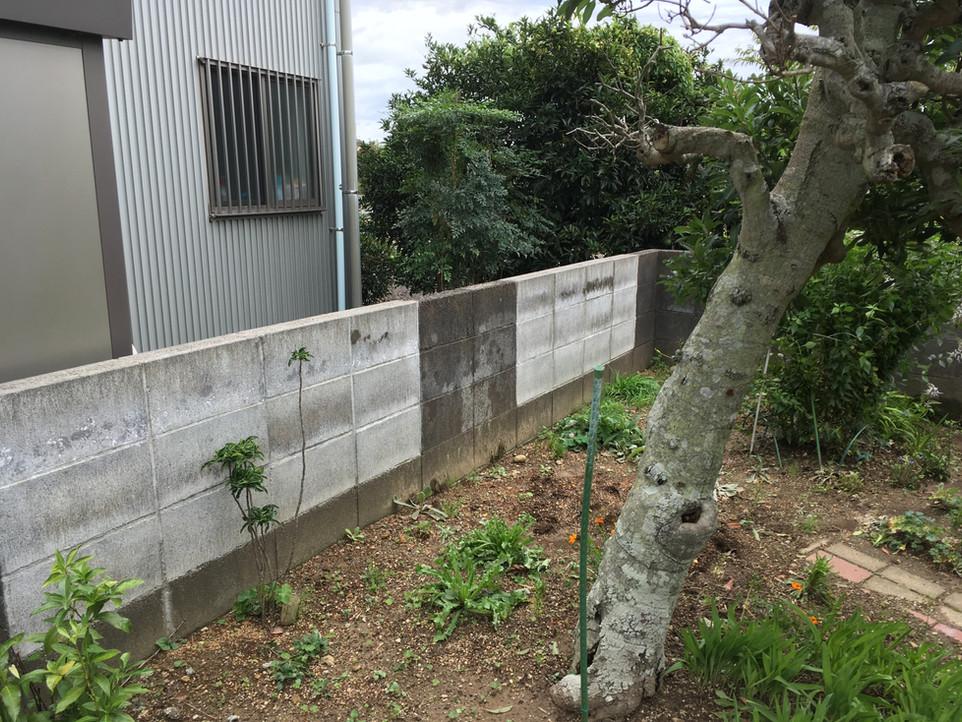 【伐採 杭打ち ロープ張り】浜松市 浜北区  便利屋 えにしプランニング