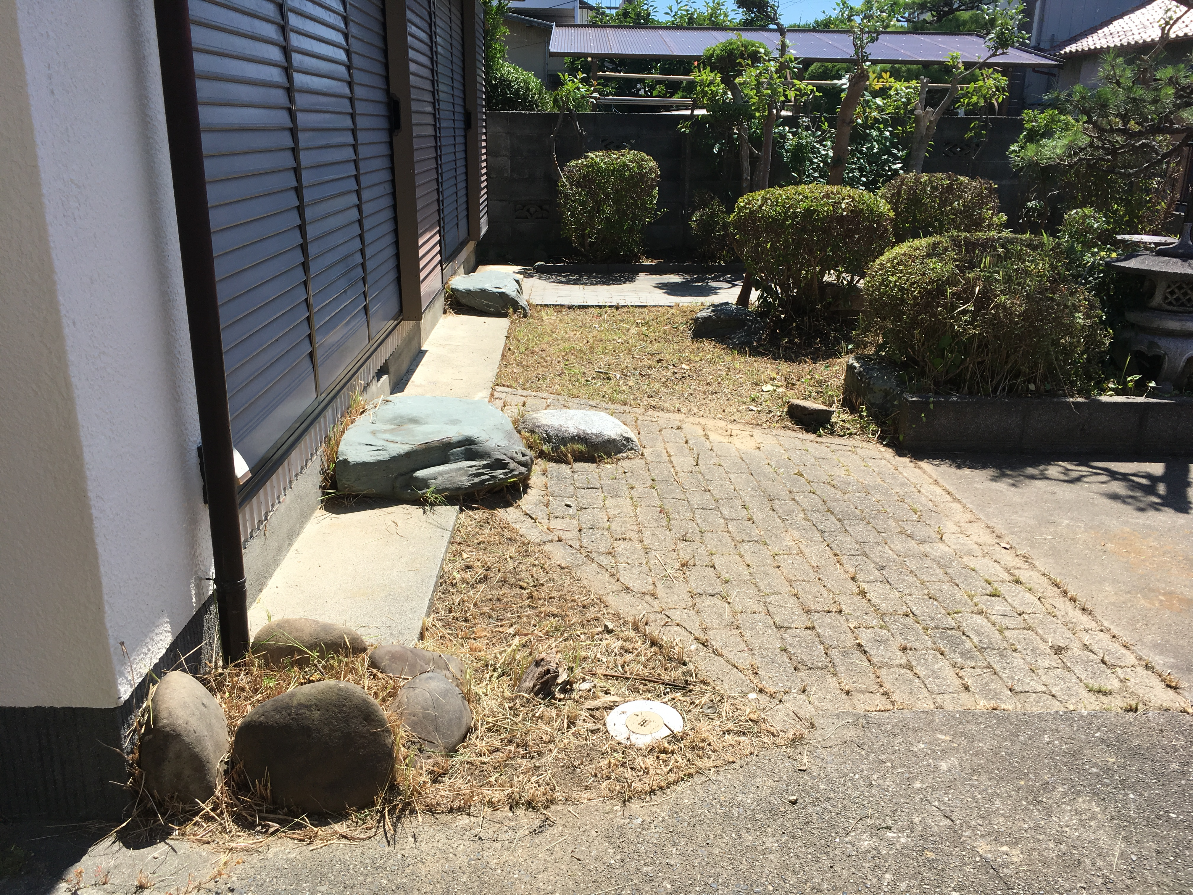 草刈り・剪定後(浜松市南区)