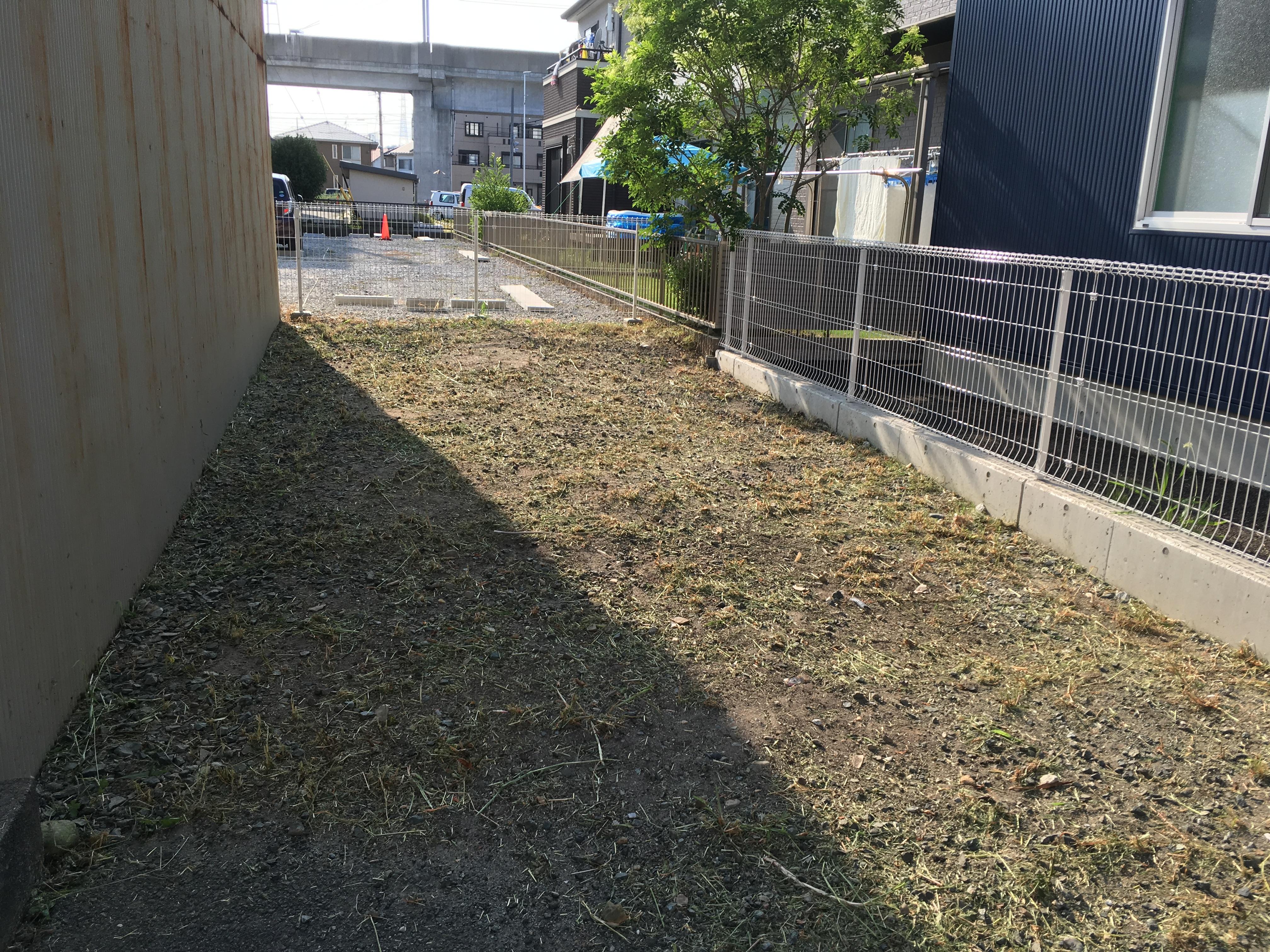 草刈り後(浜松市中区)