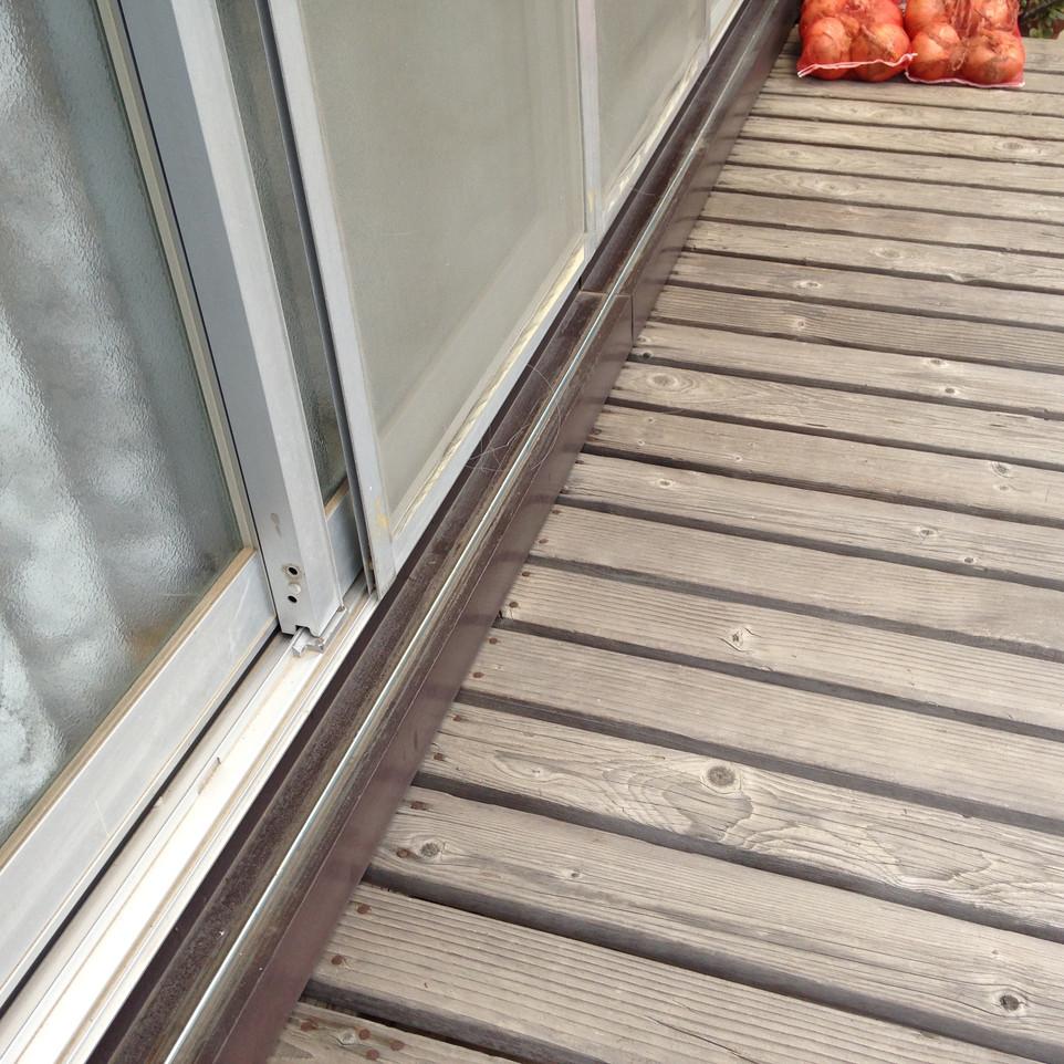 【雨戸レール 引き戸錠 交換作業】えにしプランニング 便利屋 浜松市中区