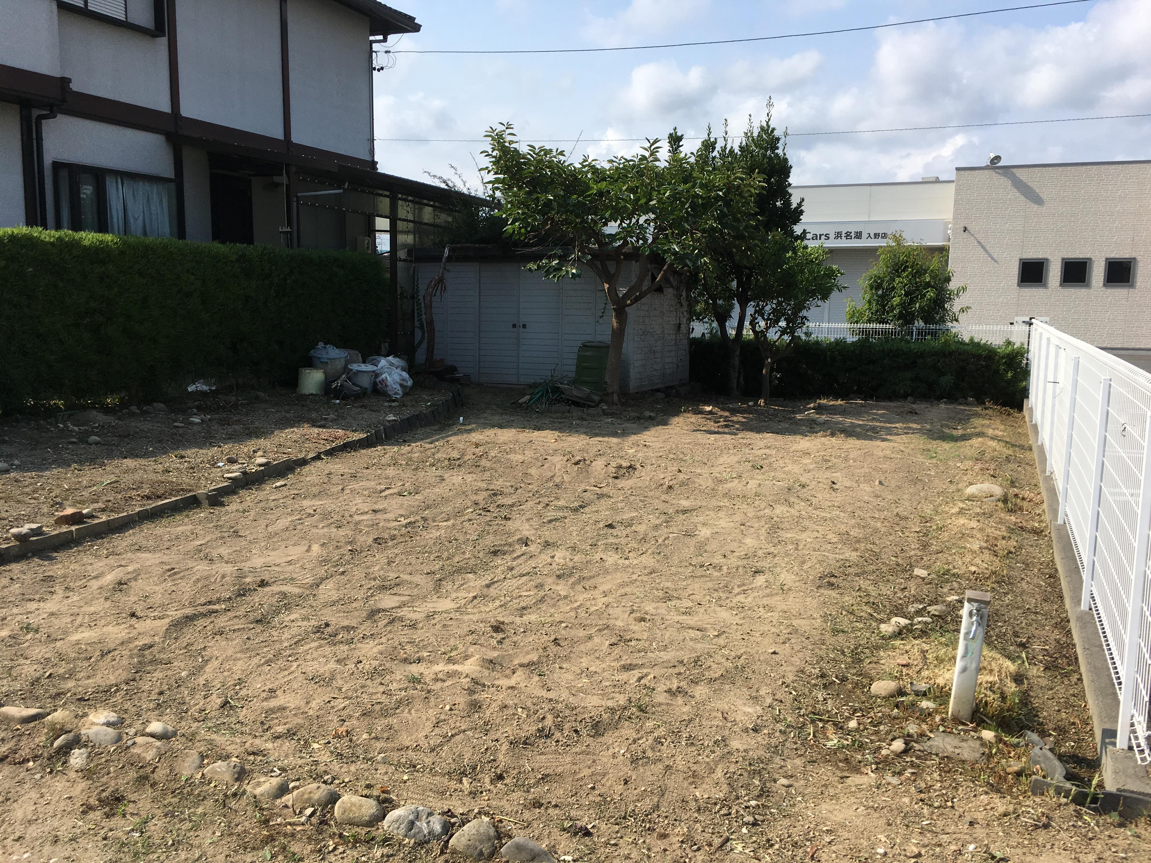 草刈り・伐採後(浜松市西区)