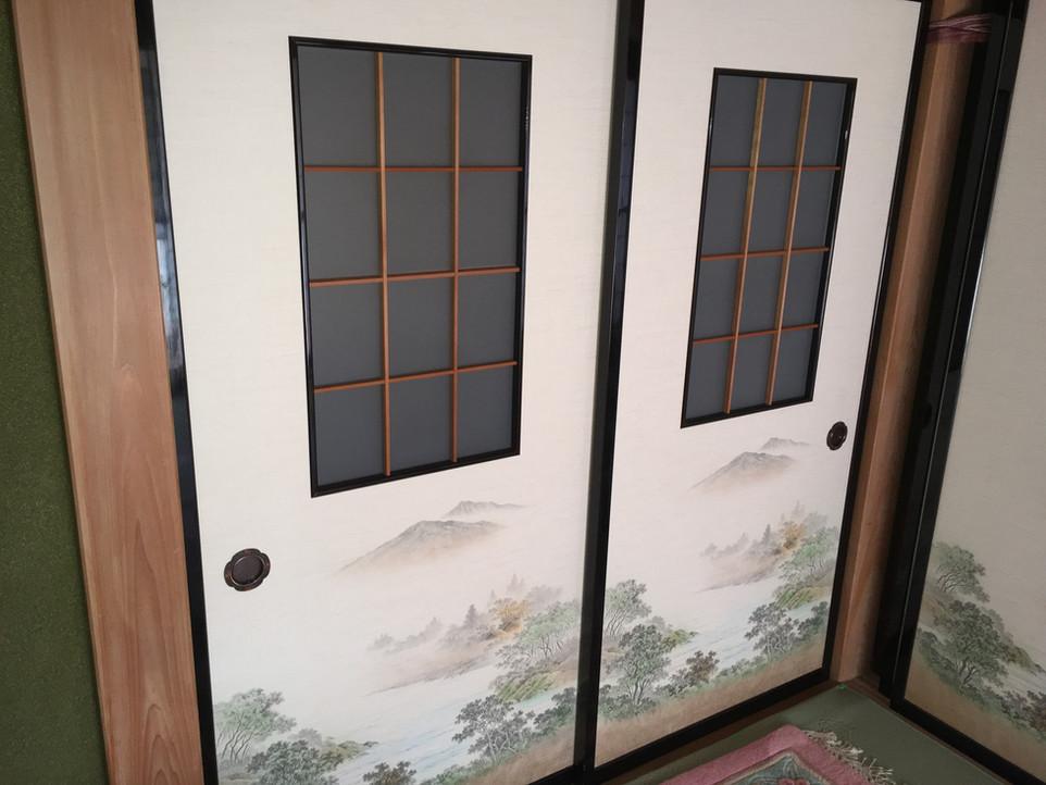 襖の張り替え 浜松市中区 えにしプランニング