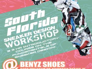 South Florida's Next Sneaker Design Workshop
