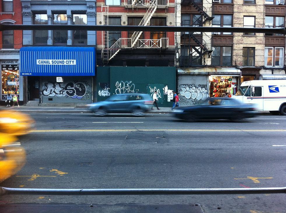 Hustle & Bustle on Canal Street