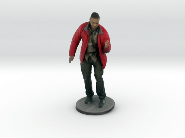 A 3d printed scan of yours truly