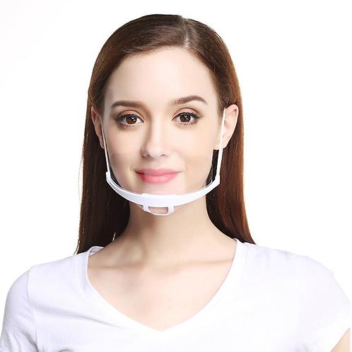 Transparente Gesichtsmaske für Food Service & Restaurant