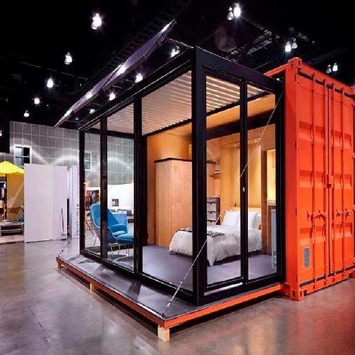 Neue 20ft hohe Erweiterbar Container Haus