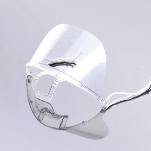 Antifog volltransparente Gesichtsmaske