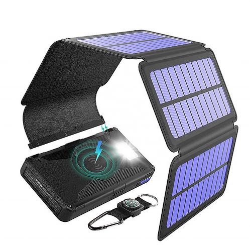 Faltbare SOLAR POWER BANK mit Ihrem LOGO