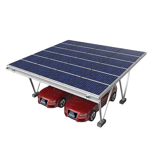 Wasserdicht Einfache Installation Aluminiumprofil Solar Carport Struktur