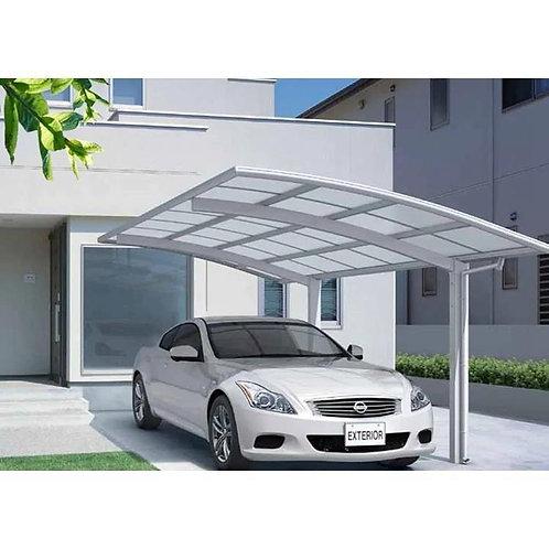 Neuer Stil einfaches Design Carport Solaranlage