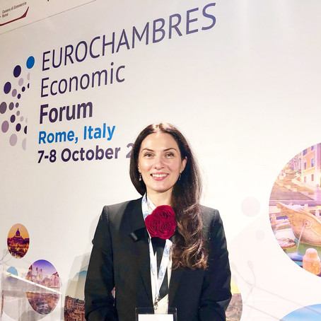 We are at the 3rd edition of the EUROCHAMBRES Economic Forum