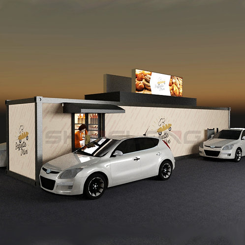 Fast Food Container Haus