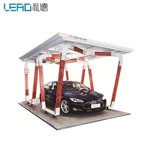 Sonderausführung Solar Carport Montage Struktur