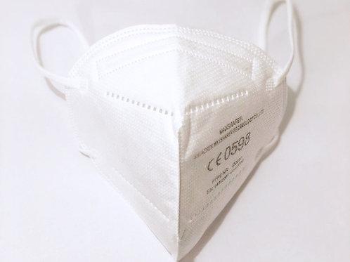FFP2 Einweg-Gesichtsschutzmaske mit hoher Filtrationseffizienz, 10 Stück Packung
