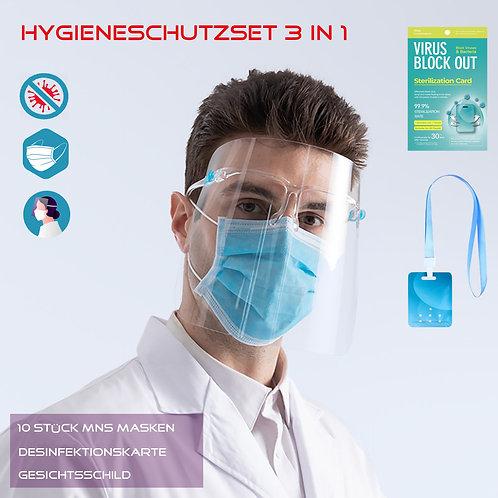 Hygieneschutzset 3 in 1