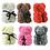 Thumbnail: Dekorativer Geschenks Rosen Bär