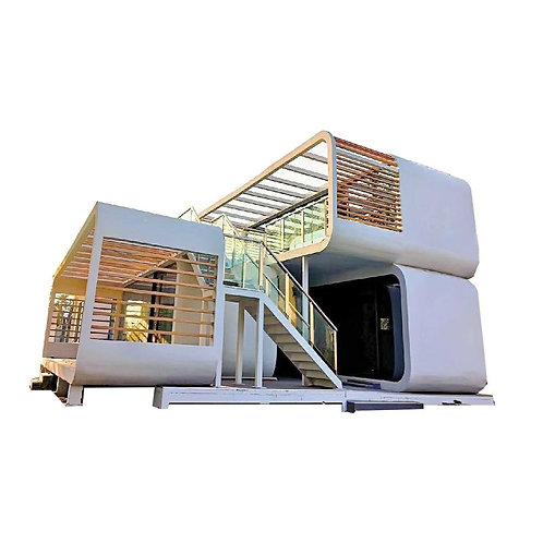 Australien Standard Vorgefertigtes erweiterbares Containerhaus mit Bad/Küche/W