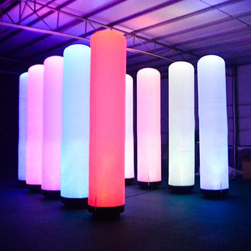 LED EVENT Säule aufblasbar/wasserdicht