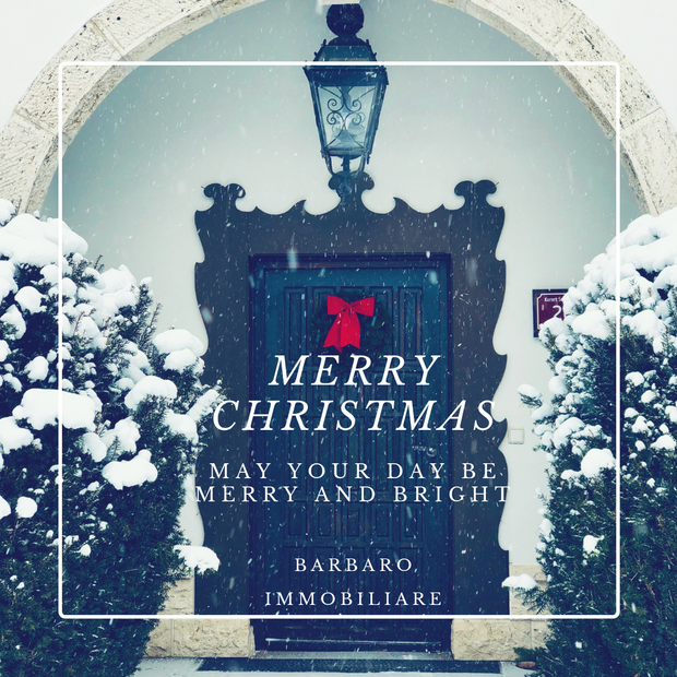 Dear clients, our Real Estate Agency wishes you a Merry Christmas 2018!