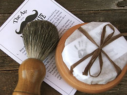 badger shaving brush shaving soap