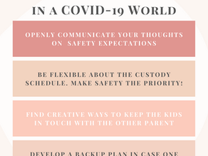 4 Tips on Co-Parenting in A COVID-19 World!