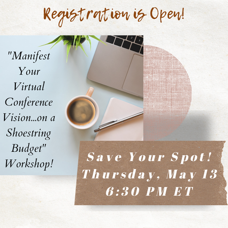 Registration is Open for the Manifest Your Virtual Conference Vision!