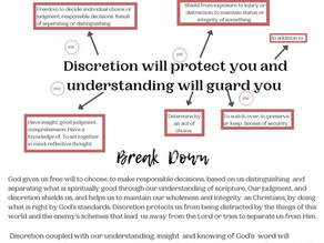 How I Break Down Scripture!