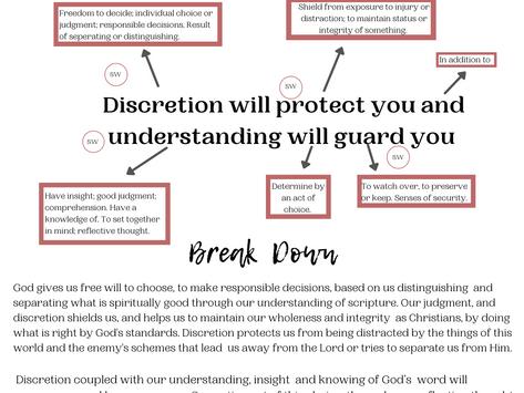 How I Break Down Scripture!