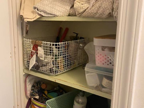 Before and After of My Linen Closet!