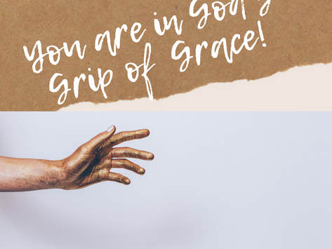 In a World of Unrest, You Can Rest in God's Grip of Grace