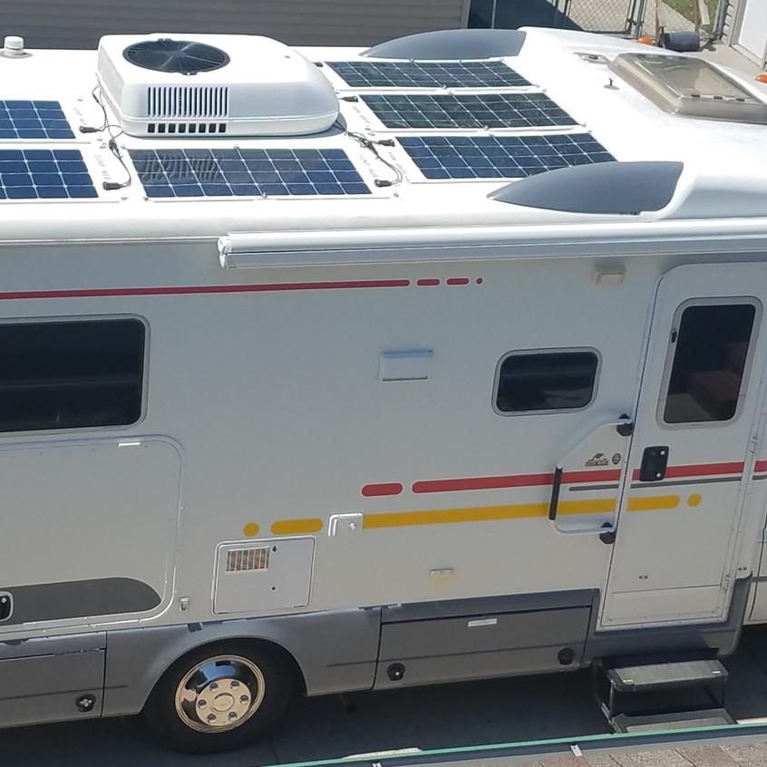 winnebago solar panels