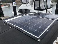 SunPower marine flexible solar panels