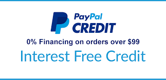 Shop now & pay later with PayPal Credit